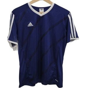 Adidas Three Stripe Short Sleeve Shirt